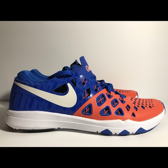 hot sales 0eb19 e0758 Nike Train Speed 4 Amp FLORIDA GATORS Size 10 blue